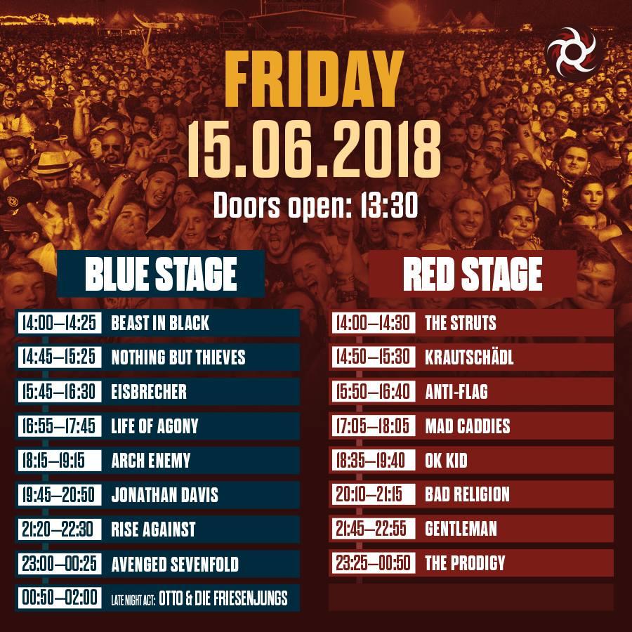 Nova Rock Reveals Timetable For 2018 Musixphotocom
