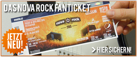 Nova Rock 2015 Limited Edition Of Fan Tickets And Other News