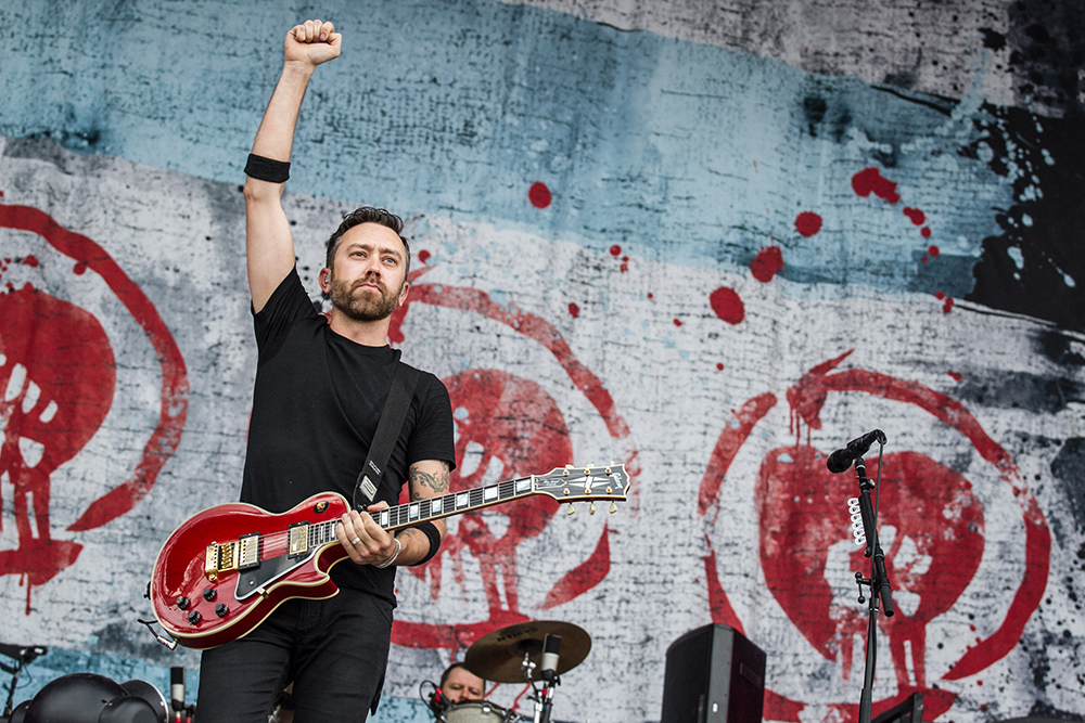 Rock im Park 2015 - Rise Against