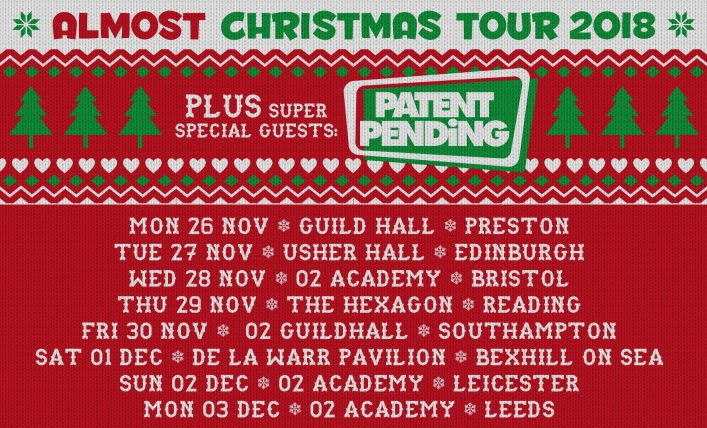 BFS The Almost Xmas 2018 - dates