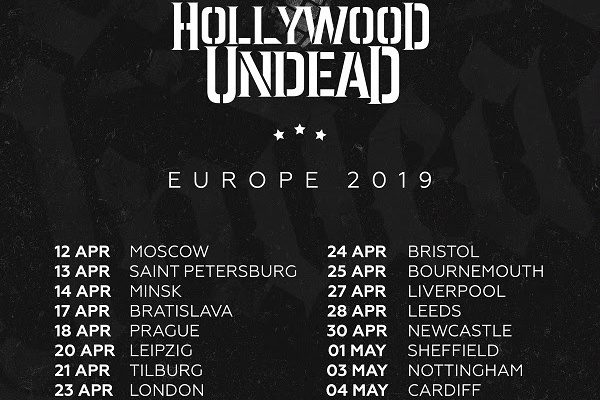Hollywood-Undead-Tour Dates 2019