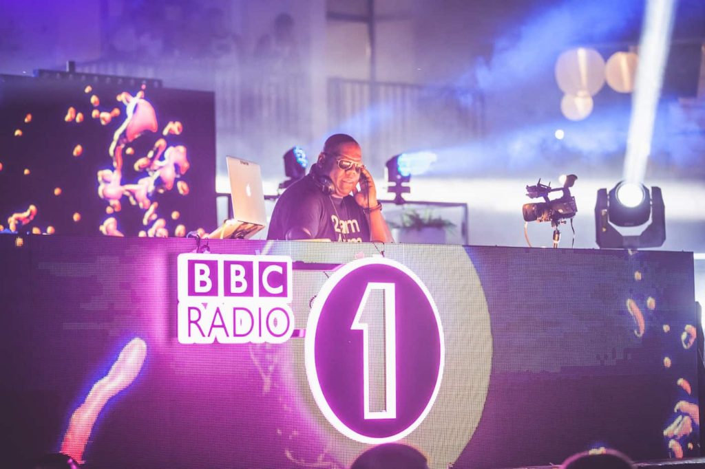 BBC Radio 1 dance show